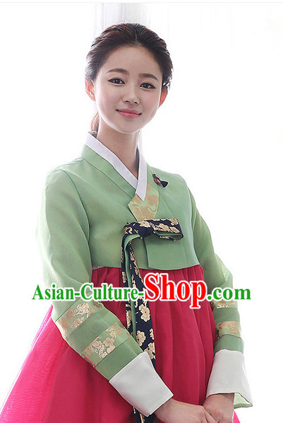 Traditional Korean Fashion Style Female Clothes Complete Sets