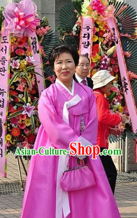Traditional Korean Fashion Style Mother Dresses Complete Sets