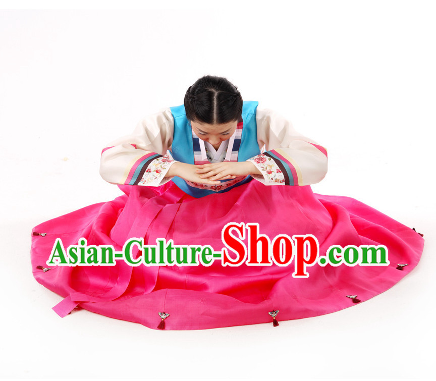 Traditional Korean Fashion Style Mother Suits Complete Set