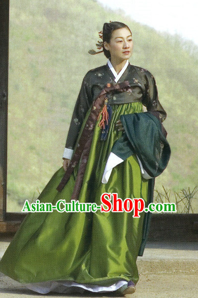 Traditional Korean Classical Clothing Hanbok for Ladies