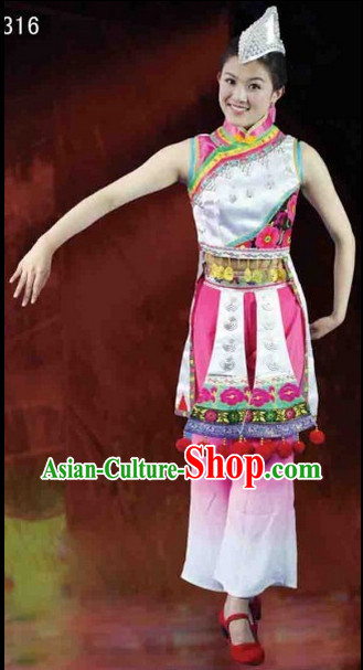 Chinese Ethnic Costumes Complete Set for Women