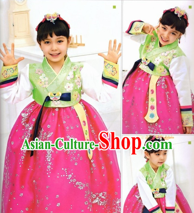 Korean Female Fashion online Apparel Hanbok Costumes Clothes