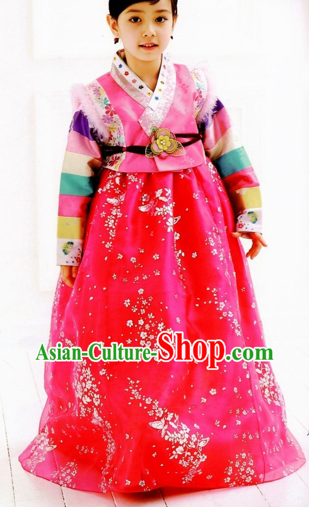 Korean Girls Fashion online Apparel Hanbok Costumes Clothes