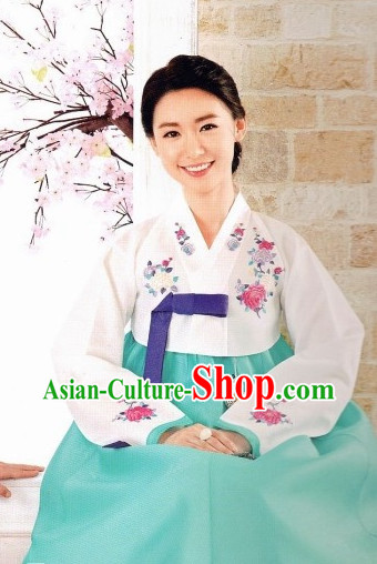 Korean Hanbok Costumes Ladies Fashion Clothes Korean Traditional Dresses