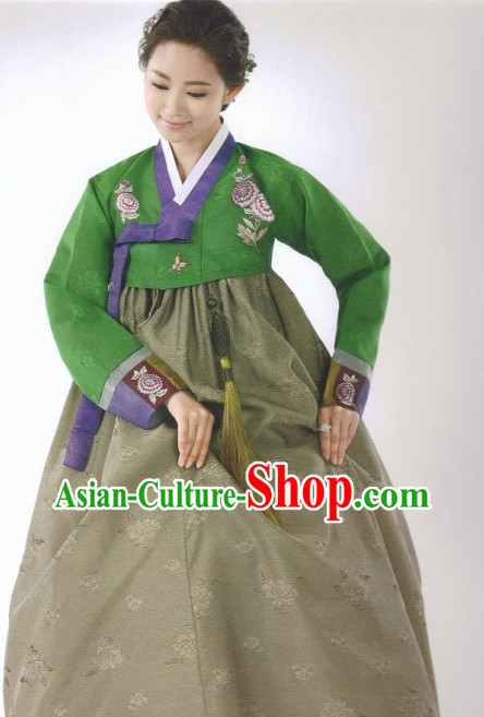 Korean Lady Traditional Clothes Hanbok Dress Shopping Free Delivery Worldwide