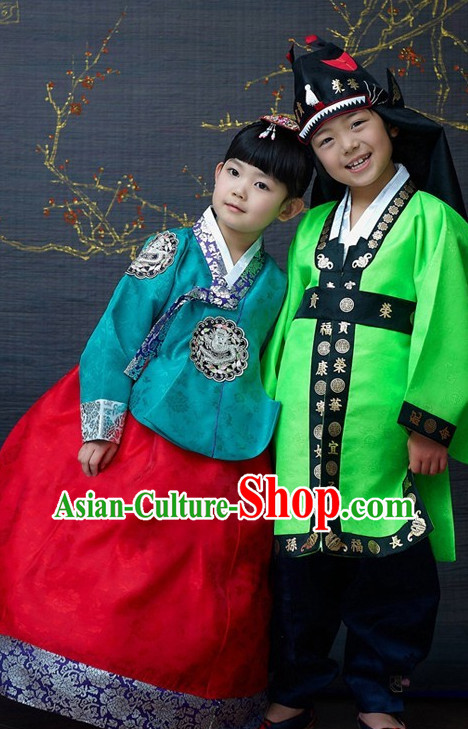 Korean Girls and Boys National Costumes Traditional Hanbok Clothes online Shopping