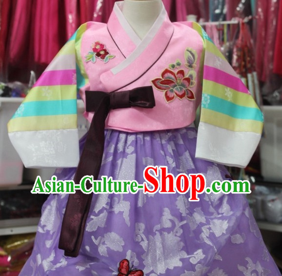 Korean Kids Dance Costumes National Costumes Traditional Hanbok Clothes online Shopping