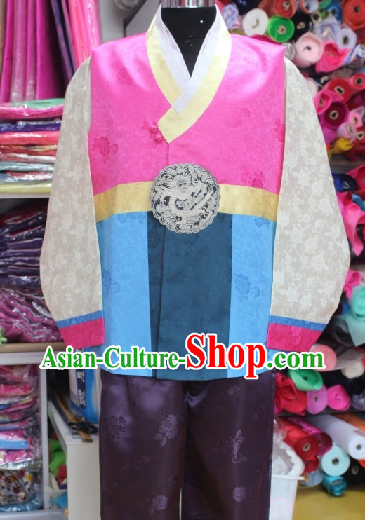 Korean Male National Costumes Traditional Hanbok Clothes online Shopping