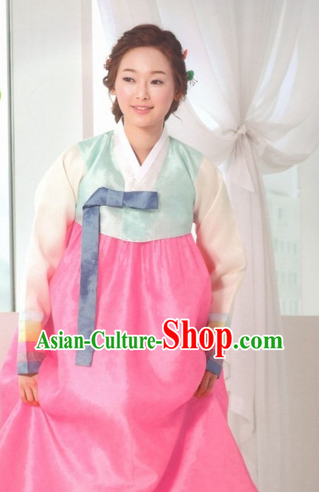 Korean Cusotm Made National Costumes Traditional Hanbok Clothes