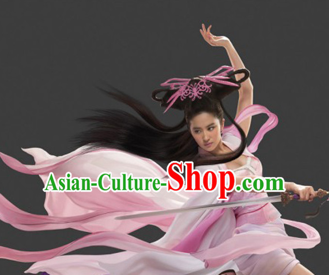 Chinese Black Fairy Wigs for Women