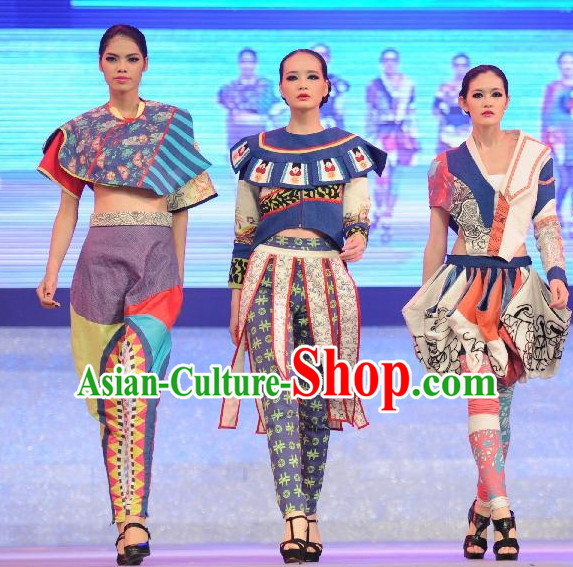 Chinese Traditional Ethnic Minority Costumes for Women