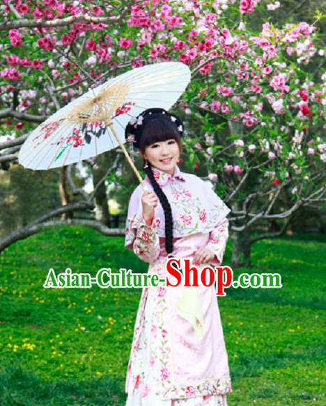 Chinese Professional Stage Performance Opera Noblewoman Costumes and Hair Accessories Full Set