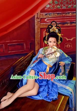 Chinese Traditional National Costumes Empress Costume Hair Accessories