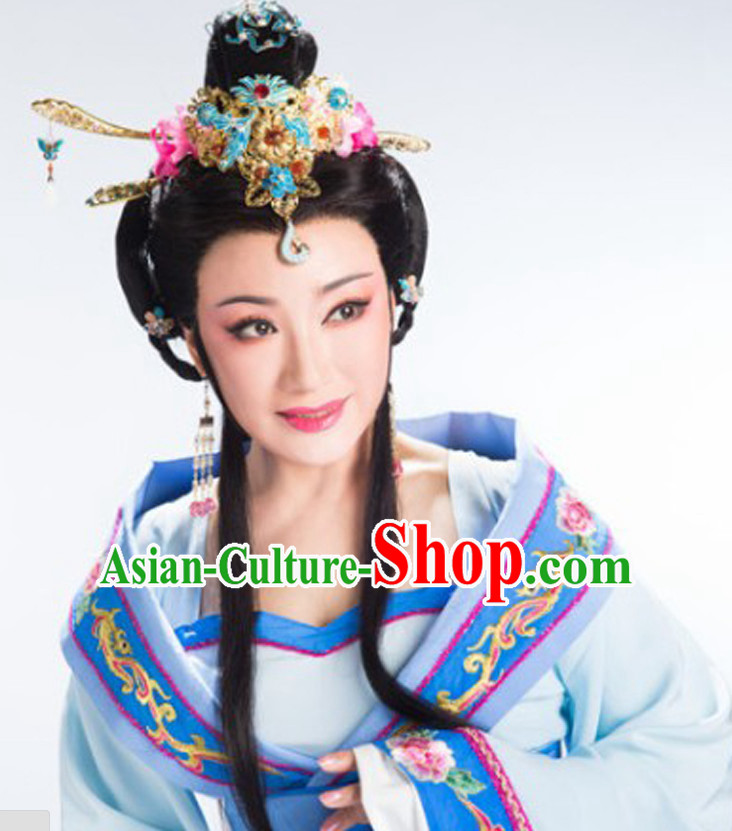 Chinese Traditional Handmade Hua Dan Hair Accessories