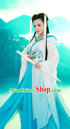 Chinese Traditional National Costumes Fairy Costume Complete Set