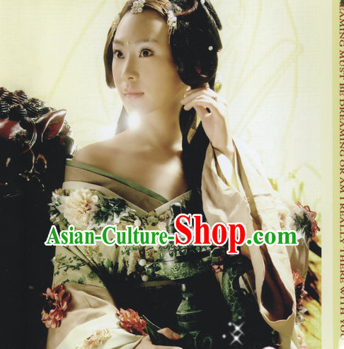 Chinese Traditional National Costume Mandarin Hanfu