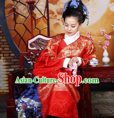 Chinese Ancient Costume Chinese Traditional Clothing Wedding Dress for Brides