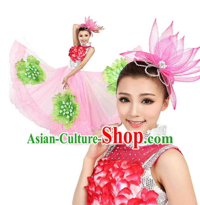 Chinese Traditional Opening Dancing Costumes Discount Dance Dostumes Discount Dance Supply for Women