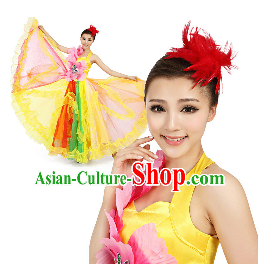 Chinese Girls Dancewear Dance Stores online and Headpieces for Women