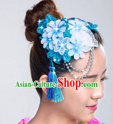 Chinese Traditional Handmade Flower Headpiece