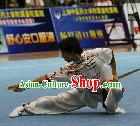 Top Competition Martial Arts Uniforms Martial Arts Supplies Kung Fu Swords Sword Championship Uniform for Men