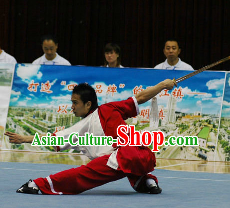 Top Martial Arts Uniforms Martial Arts Supplies Kung Fu Swords Sword Practice Uniform for Men