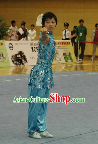 Top Martial Arts Uniforms Martial Arts Supplies Kung Fu Swords Sword Competition Uniforms for Women