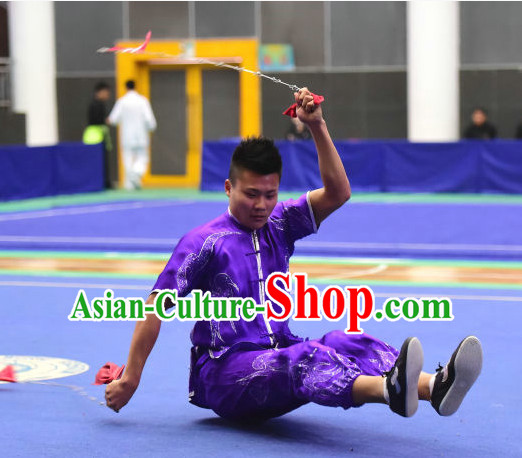 Top Chinese Kungfu Nan Quan Kung Fu Costume Kung Fu Combat Costumes Wing Chun Karate Uniform Kung Fu Competition Suit Martial Arts Costumes for Men