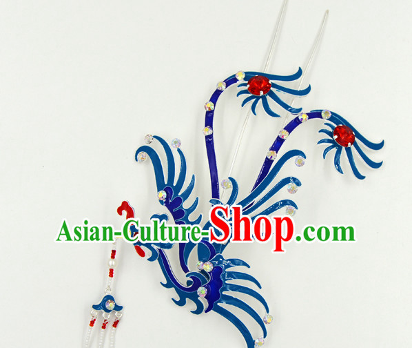 Chinese Traditional Handmade Opera Phoenix Hair Accessory