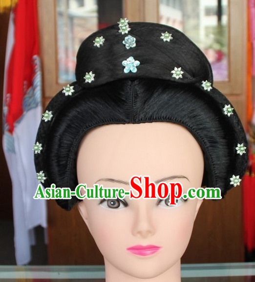 Ancient Chinese Empress or Princess Opera Wigs