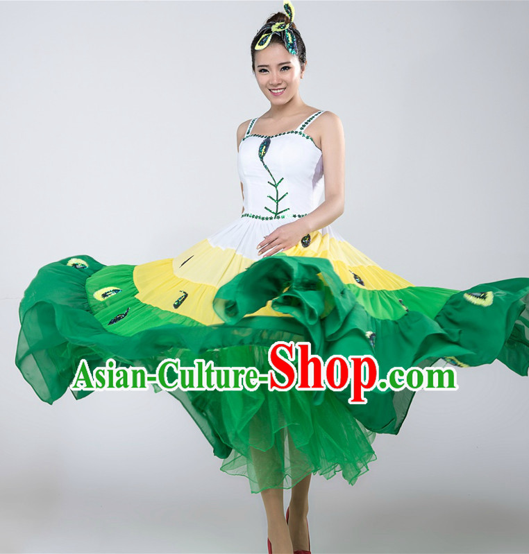 Chinese Professional Competition Dance Costumes for Women
