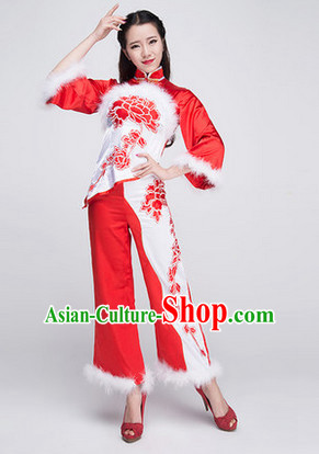 Chinese Classical Girls Dancewear Dance Costumes for Competition