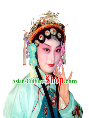 Professional Chinese Opera Hua Tan Hair Accessories Set