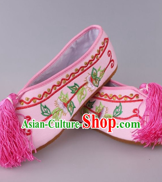 Chinese Beijing Opera Hua Tan Shoes for Women