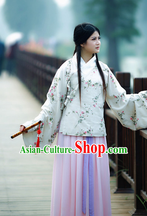 Chinese Ming Dynasty Traditional Plus Size Dress Summer Dresses