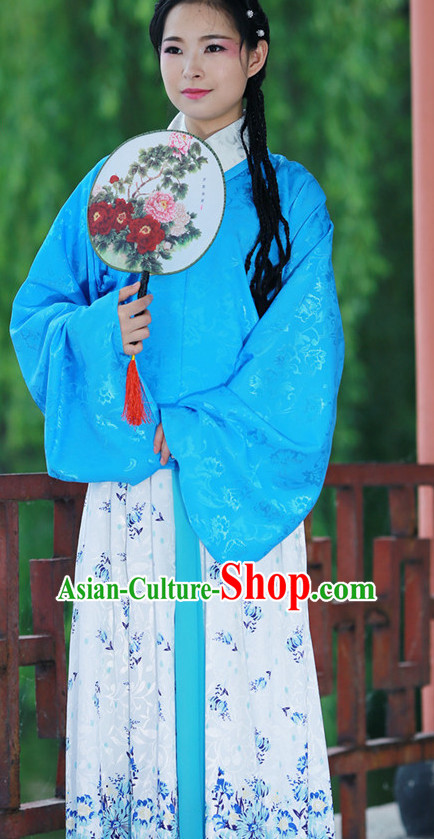 Chinese Ming Dynasty Folk Dresses for Women