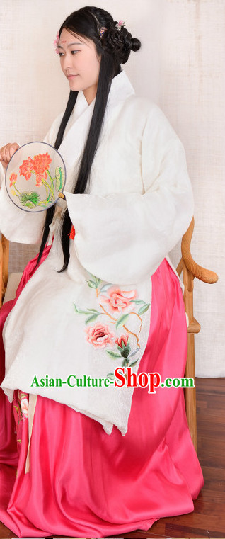 Chinese Hanfu Song Dynasty Folk Dress for Women