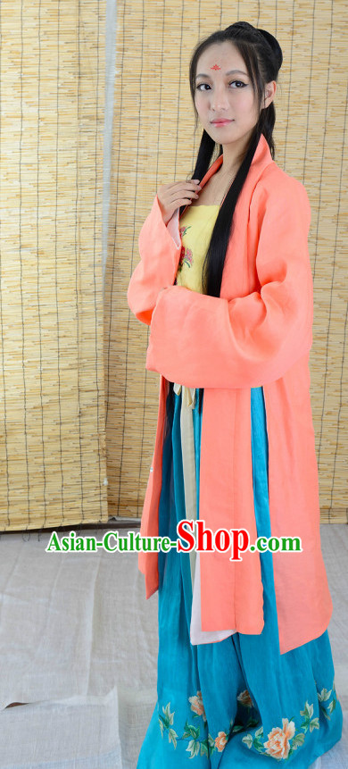Chinese Summer Hanfu Plus Size Dresses for Women