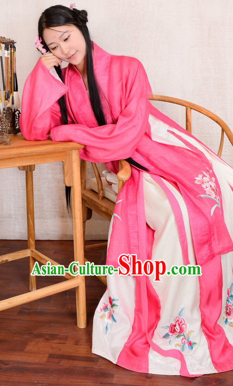 Chinese Traditional Hanfu Plus Size Costumes