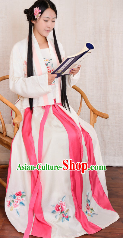 Chinese Traditional Hanfu Plus Size Costume