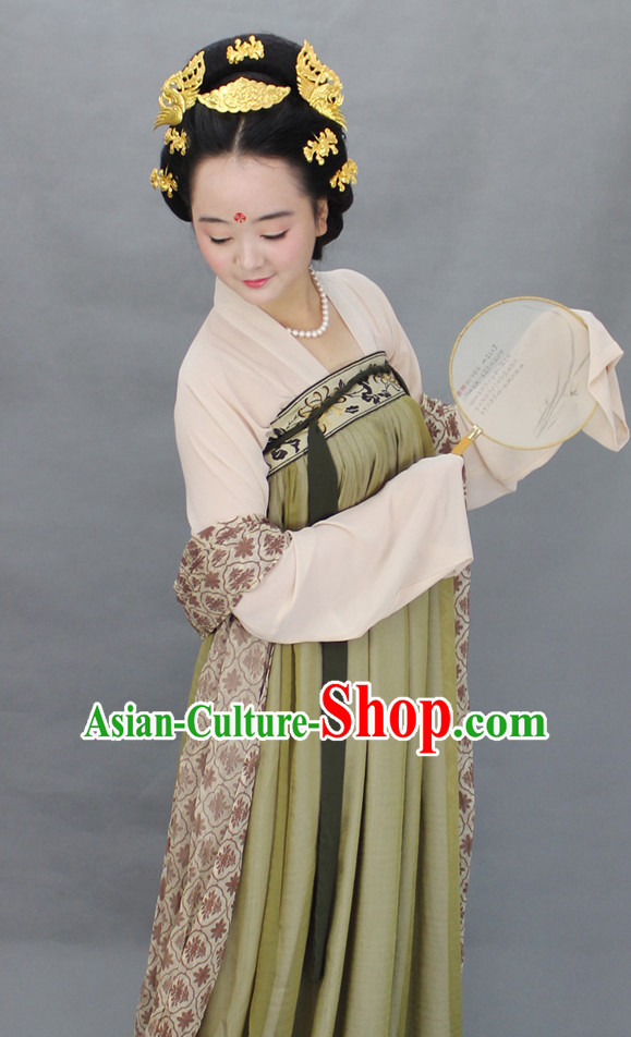 Chinese Traditional Hanfu Designer Dresses for Women
