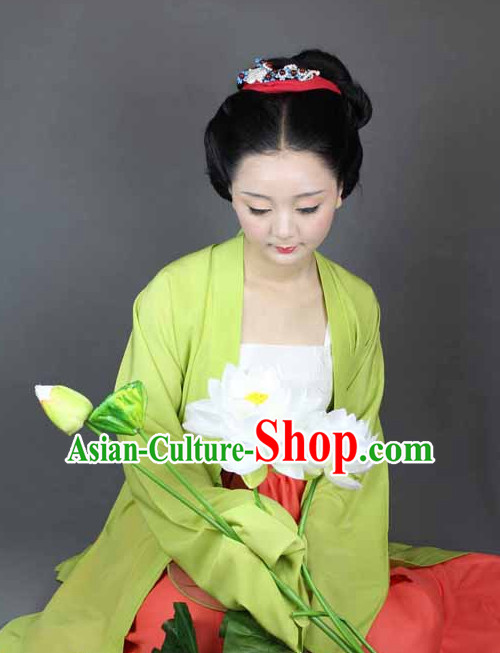Chinese Hanfu Suit Summer Dresses for Women