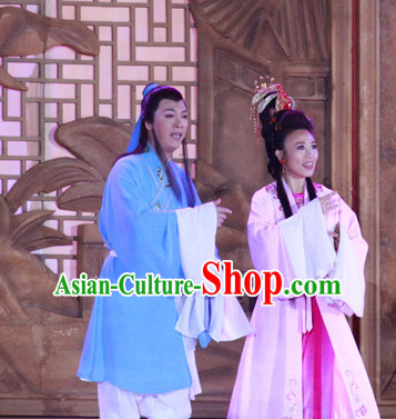 Chinese Tian XIan Pei Beijing Opera Dong Yong and Seventh Fairy Costumes