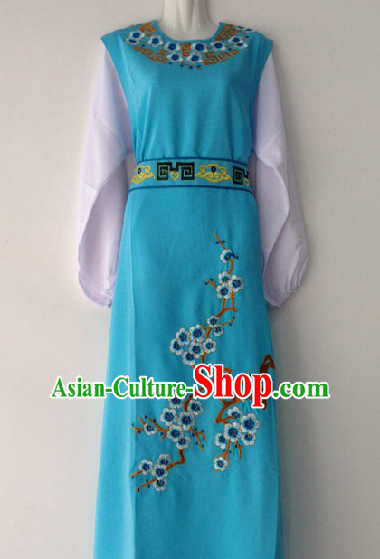 Chinese Opera Plum Blossom Embroidered Dresses