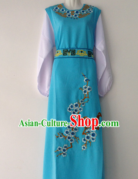 Long Sleeve Plum Blossom Classical Dance Costumes for Men