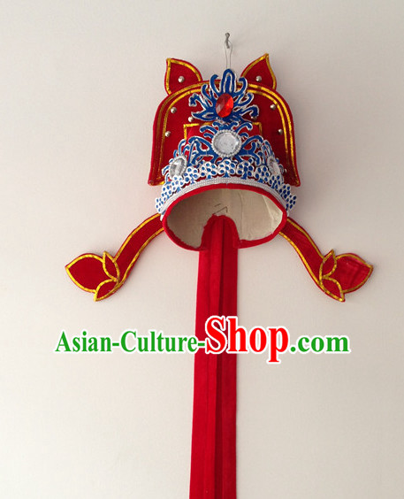 Chinese Beijing Opera Young Men Hat