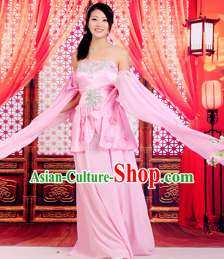 Asian Fashion Chinese Tradiitonal Dress Women Classicial Dancewear