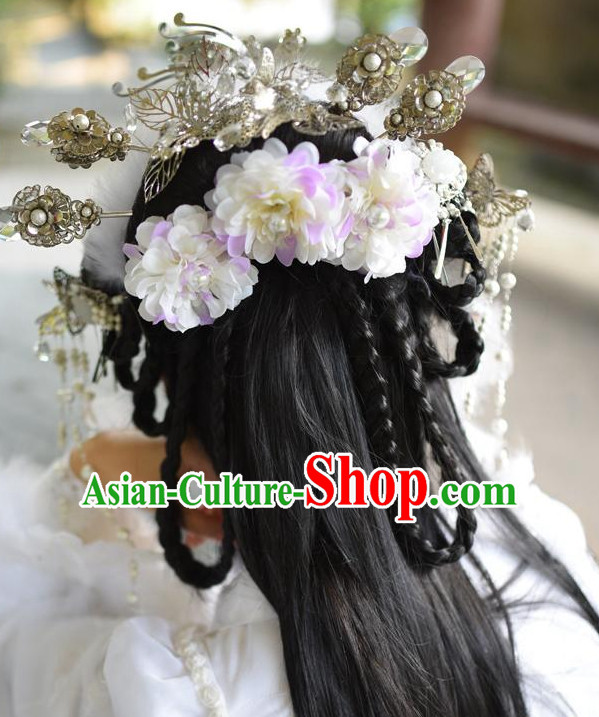 Chinese Style Queen Handmade Hair Accessories