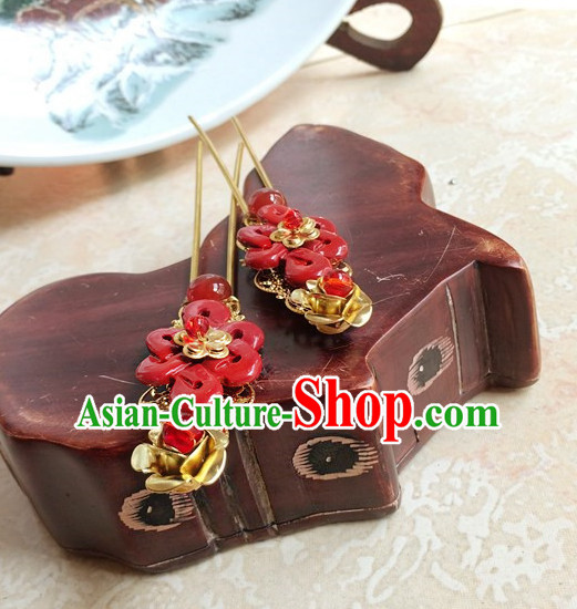 Traditional Chinese Costumes Handmade Hair Accessories Hair Jewelry