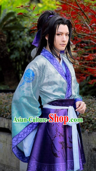 Asia Fashion Top Chinese Cosplay Halloween Costumes Complete Set for Men